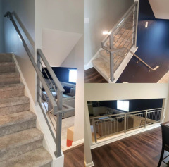Custom railings add the perfect final touch to your home